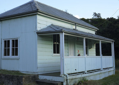 Sydney Quarantine Station - old cottage