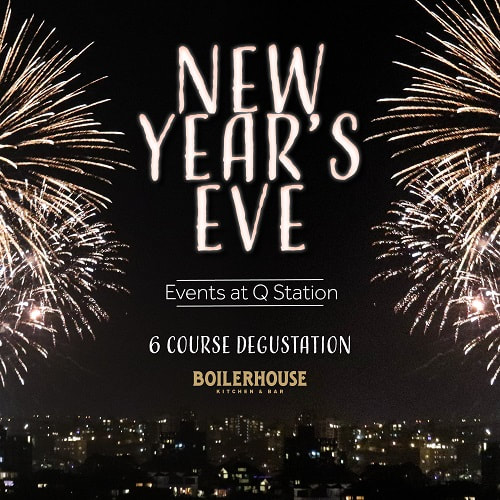 new years eve at Boilerhouse at Q Station