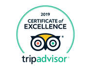 Certificate of Excellence Trip Advisor 2019