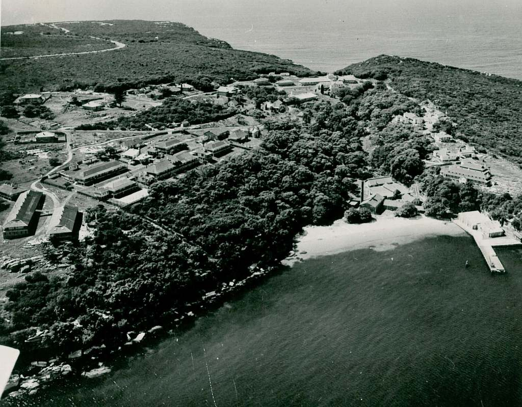Aerial view of Quarantine Station