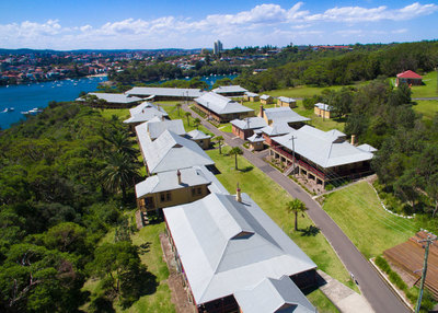 Quarantine Station Sydney from above