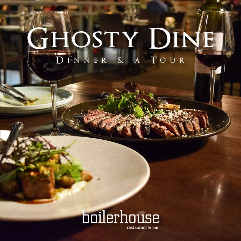Ghost tour dinner package