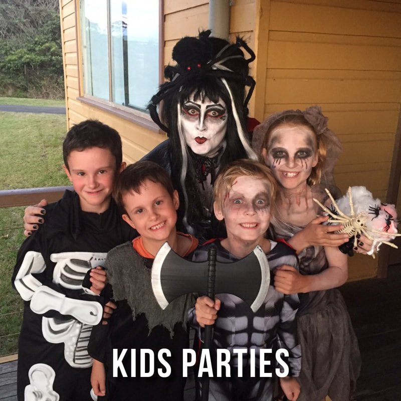 Ghost Tours kids parties in Sydney