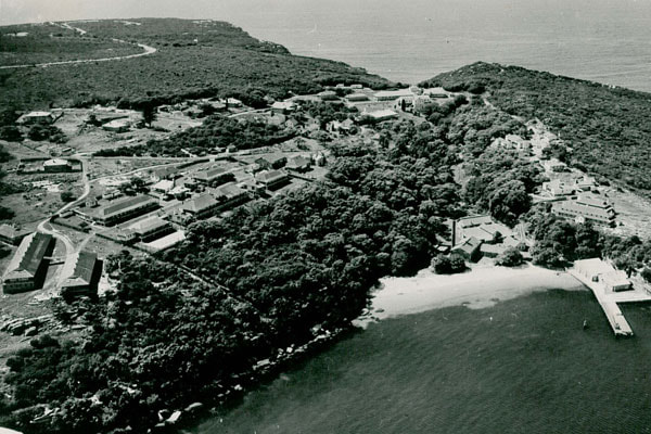 View of Quarantine Station in Manly, Sydney