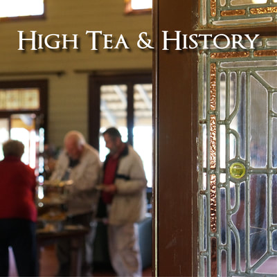 History High Tea at Q Station in Manly